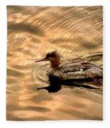 Morning Swim Fleece Blanket