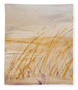 Morning Whiteout               82 Fleece Blanket