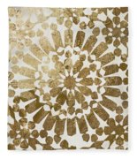 Moroccan Gold II Fleece Blanket