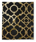 Moroccan Gold IIi Fleece Blanket