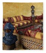 Moroccan Room Fleece Blanket