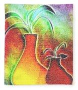 Mosaic  #134 Fleece Blanket