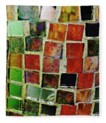 Mosaic 17 Fleece Blanket