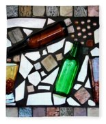 Mosaic Fleece Blanket