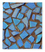 Mosaic No. 31-1 Fleece Blanket