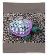 Mosaic Turtle Fleece Blanket
