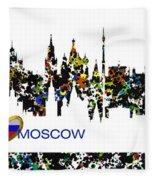 Moscow Skylines Fleece Blanket