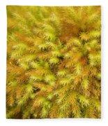 Moss Abstract Fleece Blanket