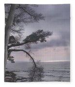 Moss Beach Fleece Blanket