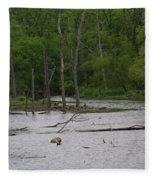 Mossy Bog Fleece Blanket