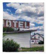 Motel Fleece Blanket