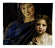 Mother And Child Reunion  Fleece Blanket