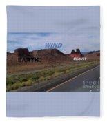 Mother Earth Fleece Blanket