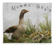 Mother Goose Fleece Blanket