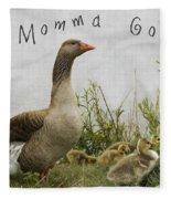 Mother Goose Fleece Blanket