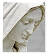 Mother Mary Comes To Me... Fleece Blanket