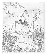 Mother Nature Fleece Blanket