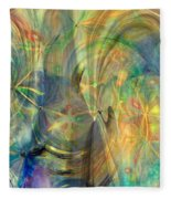 Mother Of Angels Fleece Blanket