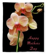 Mothers Day Card 8 Fleece Blanket