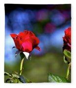 Mother's Day Roses Blank Fleece Blanket