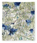 Motif Japonica No. 10 Fleece Blanket