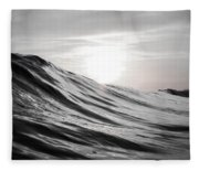 Motion Of Water Fleece Blanket