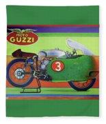 Moto Guzzi V8 Fleece Blanket