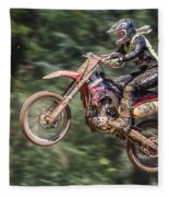 Motocross Fleece Blanket