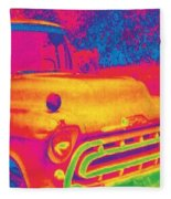Motor City Pop #6 Fleece Blanket
