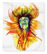 Motorbreath Fleece Blanket