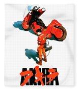 Motorcycle Fleece Blanket