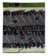 Motorcycles Fleece Blanket