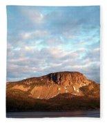Mottled Sky Of Late Spring Fleece Blanket