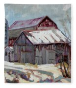 Moultons Barns Fleece Blanket