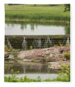 Mound Lake Dam 2 Fleece Blanket