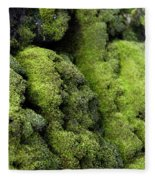Mounds Of Moss Fleece Blanket