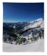 Mount Baker 2 Fleece Blanket