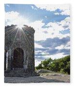 Mount Battie Camden Maine Fleece Blanket