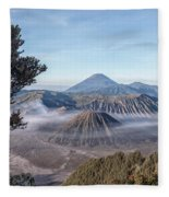 Mount Bromo National Park - Java Fleece Blanket
