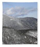 Mount Carrigain - White Mountains New Hampshire Usa Fleece Blanket