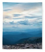 Mount Evans Fleece Blanket