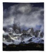 Mount Fitz Roy 6 Fleece Blanket