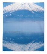 Mount Fuji Fleece Blanket