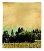 Mount Hood Fleece Blanket