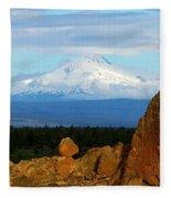 Mount Jefferson Fleece Blanket