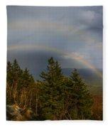 Mount Monadnock Fleece Blanket