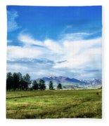 Mount Pagosa Meadow Fleece Blanket