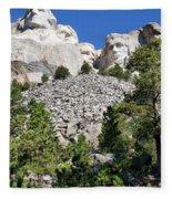 Mount Rushmore II Fleece Blanket