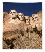 Mount Rushmore National Monument South Dakota Fleece Blanket