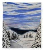 Mount Seymour Fleece Blanket